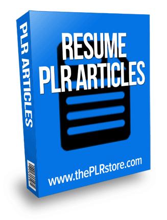 resume plr articles resume plr articles Resume PLR Articles resume plr articles