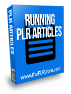 running plr articles