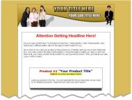 private label rights Private Label Rights and PLR Products salespagetempgoldscreen1
