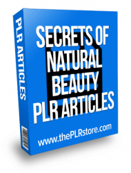 secrets of natural beauty plr articles private label rights Private Label Rights and PLR Products secrets of natural beauty plr articles