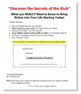 secrets-of-the-rich-plr-ar-series-squeeze-page