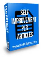 self improvement plr articles