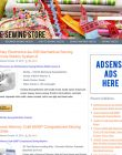 Sewing Store PLR Amazon Turnkey Website sewing plr amazon store website cover 110x140
