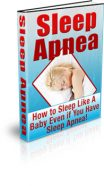 sleep-apnea-plr-ebook-cover