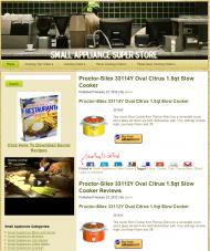 small-appliance-plr-amazon-store-main