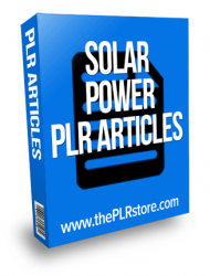 solar power plr articles solar power plr articles Solar Power PLR Articles solar power plr articles 190x250