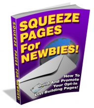 squeeze-pages-for-newbies-plr-ebook-cover  Squeeze Pages For Newbies PLR Ebook squeeze pages for newbies plr ebook cover 190x217