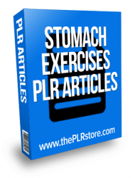 stomach exercises plr articles