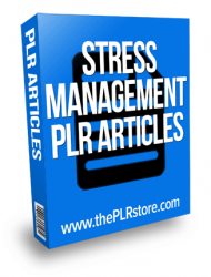 stress management plr articles stress management plr articles Stress Management PLR Articles stress management plr articles 190x250