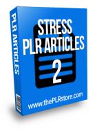 stress plr articles