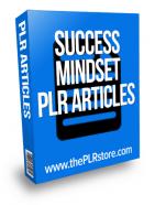 success mindset plr articles