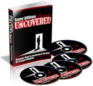 Super Affiliate Secrets Uncovered PLR Audio super affiliate secrets uncovered plr audio 327x302