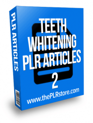 teeth whitening plr articles 2