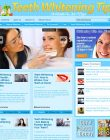 Teeth Whitening Tips PLR Website with Private Label Rights teeth whitening tips plr website main 110x140
