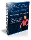 top-5-diet-disasters-bonus-plr-ebook-cover