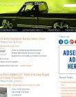 Truck Accessories PLR Amazon Store Website truck accessories plr amazon store website cover 110x140