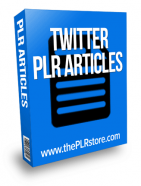 twitter plr articles