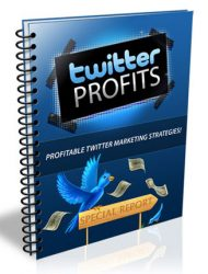 twitter profits plr ebook