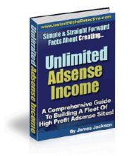 unlimitedadsensecover  Google Adsense MRR – 4 eBooks unlimitedadsensecover 190x221
