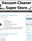 Vacuum Cleaner PLR Amazon Turnkey Store Website vacuum cleaner plr amazon turnkey store cover 110x140