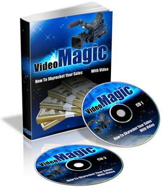 Video Magic PLR Audio/Ebook video magic plr cover 327x377