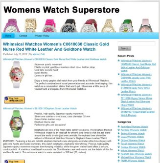 Womens Watches PLR Amazon Store Website womens watches plr amazon store website main 327x334