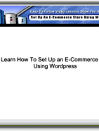 wordpress ecommerce set up video