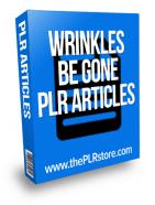 wrinkles be gone plr articles