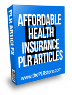 affordable-health-insurance-plr-articles