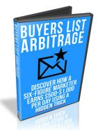 buyers list arbitrage plr videos