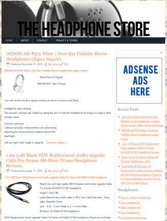 headphones plr website Headphones PLR Website Amazon Store with Private Label Rights 2 headphones plr website amazon store cover