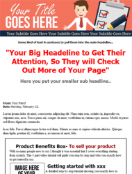 reddish grey website template