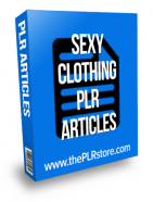 sexy clothing plr articles