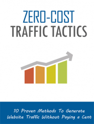zero cost website traffic zero cost website traffic Zero Cost Website Traffic Generation Tactics Package MRR zero cost website traffic tactics mrr cover 190x250