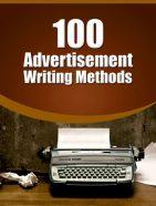 advertisement writing methods report