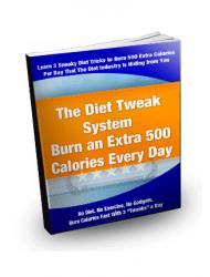 diet tweak system plr ebook