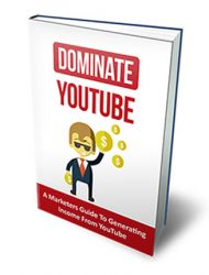 dominate youtube ebook dominate youtube ebook Dominate YouTube with Master Resale Rights dominate youtube ebook mrr cover 190x250