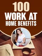 work at home benefits report
