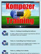 kompozer training videos plr