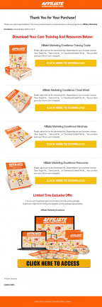 affiliate marketing excellence ebook and videos