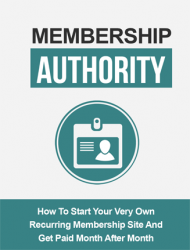 membership authority ebook and videos