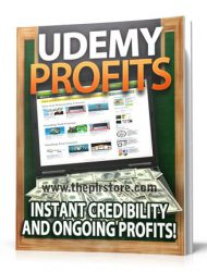 udemy profits plr report udemy profits plr report Udemy Profits PLR Report for Listbuilding udemy profits plr report 190x250