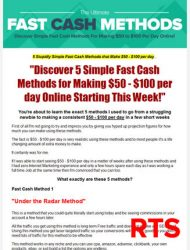 fast cash methods ready to sell plr