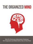 organized mind ebook and videos