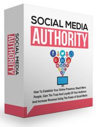 social media authority ebook and videos private label rights Private Label Rights and PLR Products social media authority ebook and videos