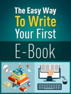 easy way to write your first ebook plr ebook