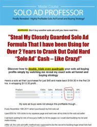 solo ad professor plr videos ready to sell solo ad professor plr videos Solo Ad Professor PLR Videos Ready To Sell Package solo ad professor plr videos ready to sell 190x250