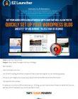 wordpress ez launcher plugin wordpress ez launcher plugin Wordpress EZ Launcher Plugin with Master Resale Rights wordpress ez launcher plugin 110x140