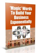 magic words to build your business plr report