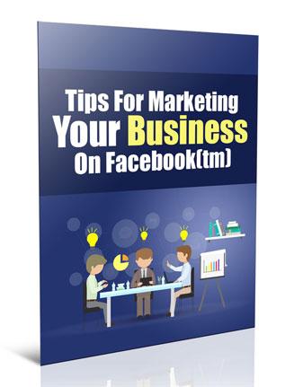 marketing on facebook plr report